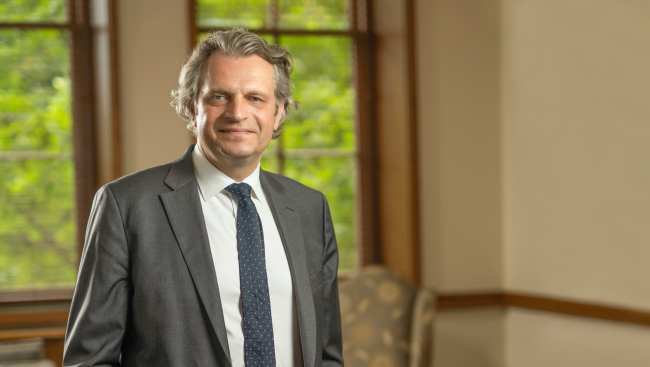 New Aspirations: Vanderbilt welcomes Daniel Diermeier as the university's ninth chancellor