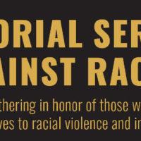 Memorial Service Against Racism