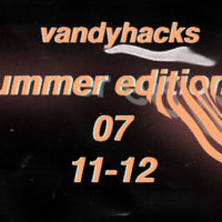 VandyHacks Summer Edition July 10-12