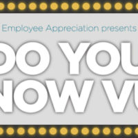 Employee Appreciation presents Do You Know VU? trivia contest