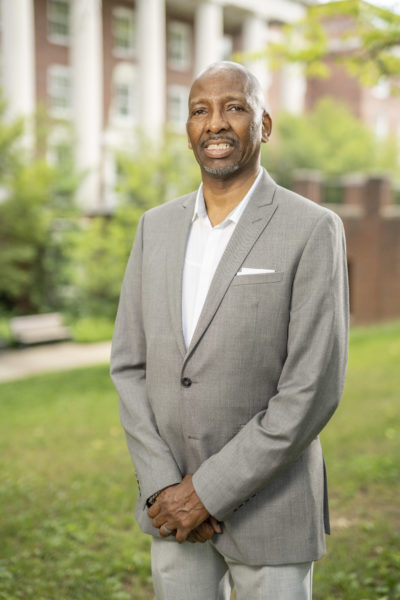 Frank Dobson, associate dean of The Martha Rivers Ingram Commons