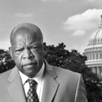 Portrait of Congressman John Lewis, taken in Washington, D.C., on July 25, 2007. (Courtesy of Eric Etheridge)