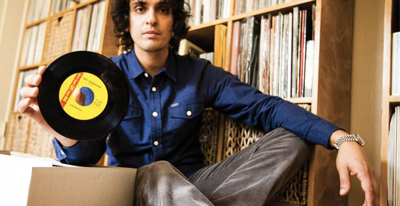 Egon Alapatt, BA'00, offers tips on how to collect vinyl records