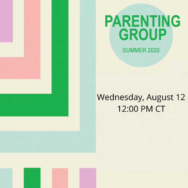 Parenting Group Aug. 12, 2020