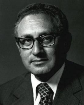 headshot of Henry Kissinger