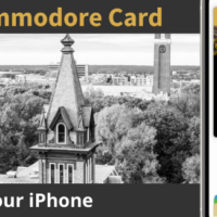 Commodore Card for iPhone graphic