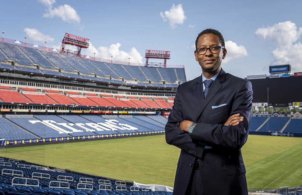 Lasting and Meaningful Change: NFL executive Adolpho A. Birch III, JD'91, discusses diversity on campus and athlete activism