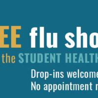 Student flu shots graphic