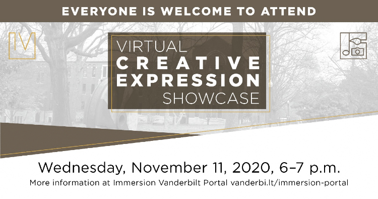 Virtual Creative Expression Showcase Nov. 11