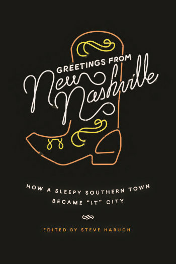 book jacket for 'Greetings from New Nashville'
