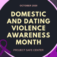 Domestic and Dating Violence Awareness Month