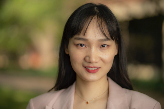 """Xin """"Maizie"""" Zhou, assistant professor of biomedical engineering (Vanderbilt University)"""