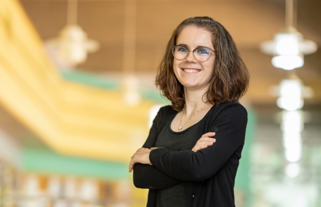 Savanna Starko, senior lecturer in physics and astronomy