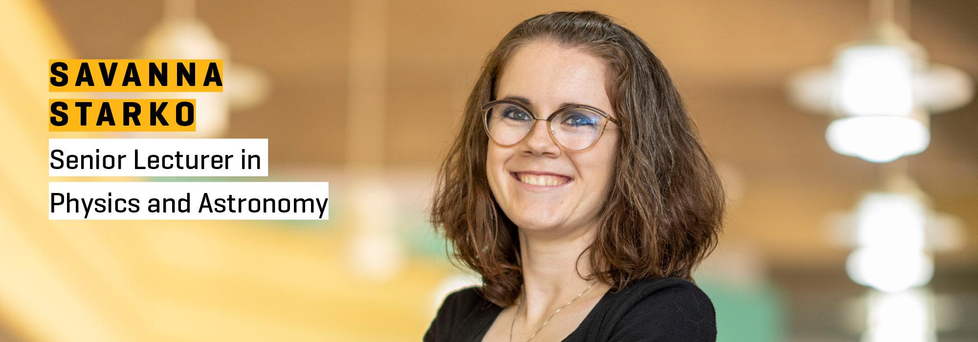 New faculty Savanna Starko: Seeking answers to big questions