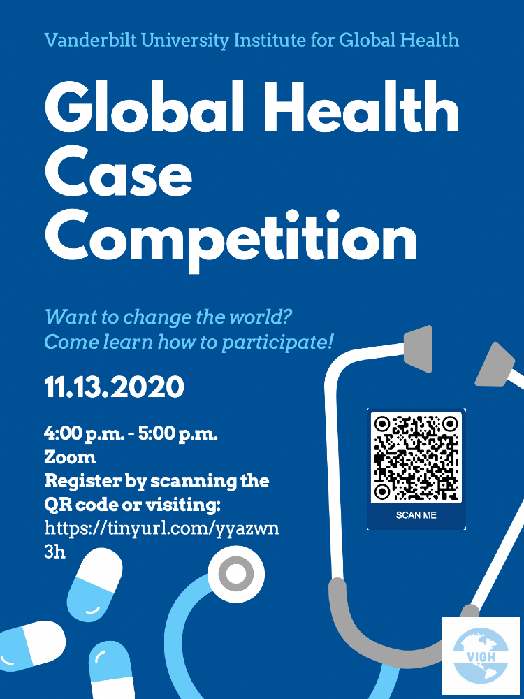 2020 Global Health Case Competition poster