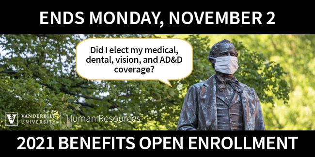 Open Enrollment ends today