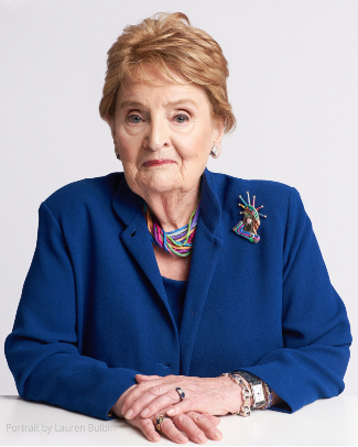 Sec. Madeleine Albright (photo by Lauren Bulbin)