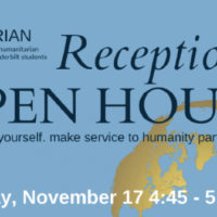 Nichols Humanitarian Fund Reception and Open House