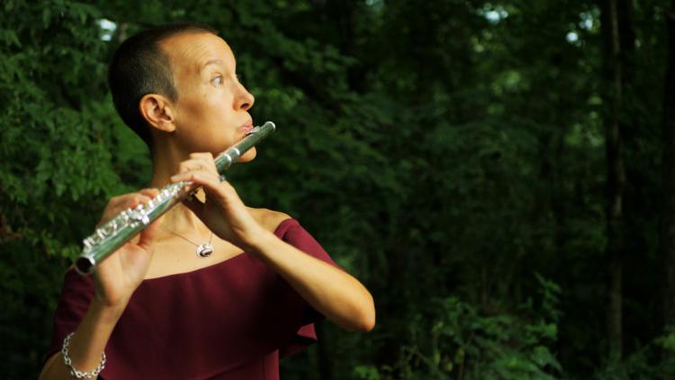 Molly Barth, associate professor of flute