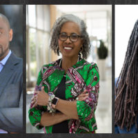 Marc Lamont Hill, Gloria Ladson-Billings and Bettina Love