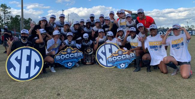 Vanderbilt Soccer wins SEC championship