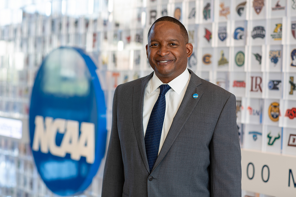 A Stronger Voice: As the new head of the NCAA's inclusion efforts, Derrick Gragg aims to amplify opportunities for student-athletes