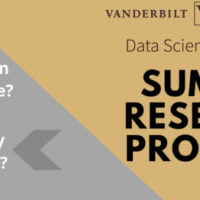 Vanderbilt Data Science Institute Undergraduate Summer Research Program