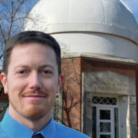 Billy Teets, director of Vanderbilt Dyer Observatory
