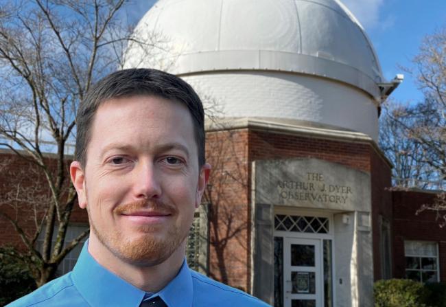 Billy Teets, director of Vanderbilt Dyer Observatory