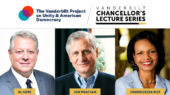 Vanderbilt Project on Unity and American Democracy debuts with conversation series featuring Gore, Rice, Meacham