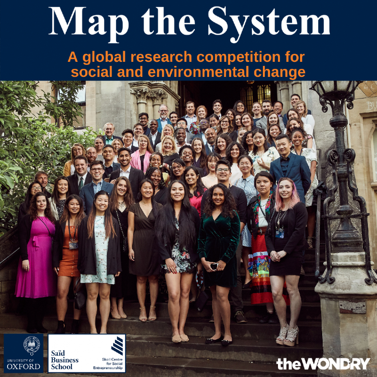 All Vanderbilt students interested in social and environmental change are invited to participate in Map the System, a global research competition.