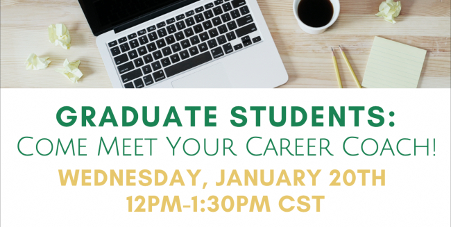 Career Center open house for Graduate School students