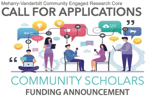 Meharry-Vanderbilt Community Engaged Research Core seeking applicants for Community Scholars Awards