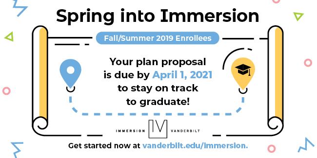 Spring into Immersion 2021