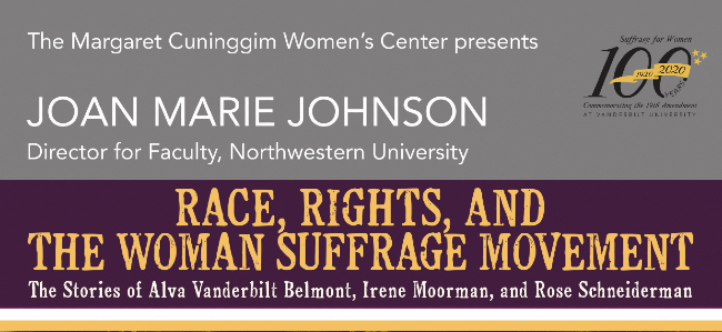 Author Joan Johnson to give Women's History Month lecture March 4