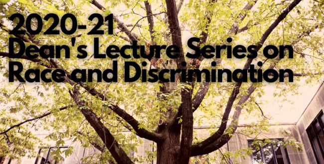 Shaw to give Law School Dean's Lecture on Race and Discrimination April 15