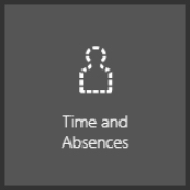Oracle time and absences icon