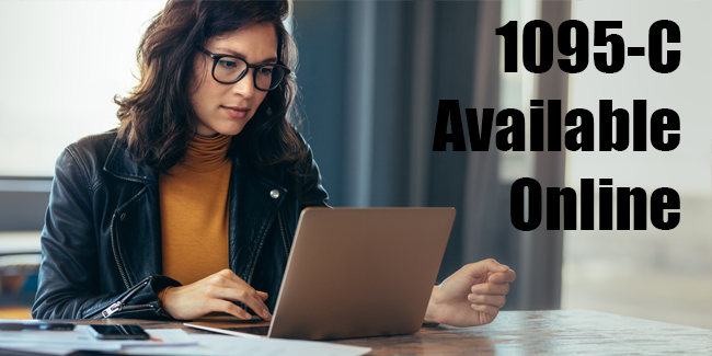 Form 1095-C now available online at My VU Benefits