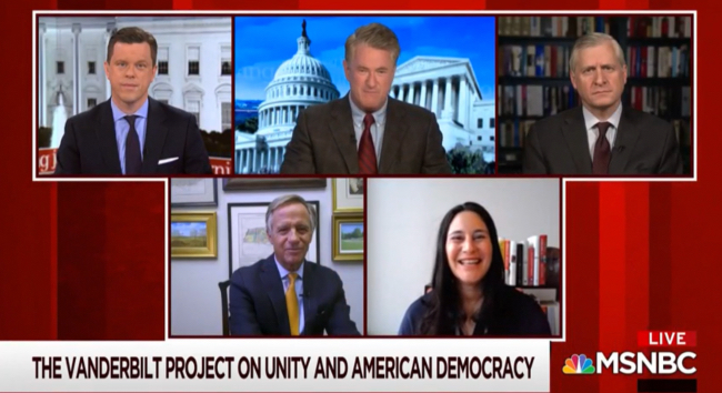 MSNBC's 'Morning Joe' features The Vanderbilt Project on Unity and American Democracy