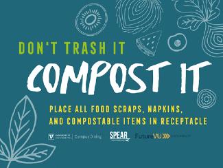 Don't Trash It - Compost It