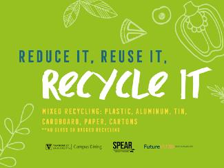 Reduce it, Reuse it, Recycle it