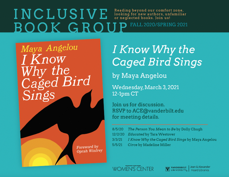 Inclusive Book Group: I Know Why the Caged Bird Sings