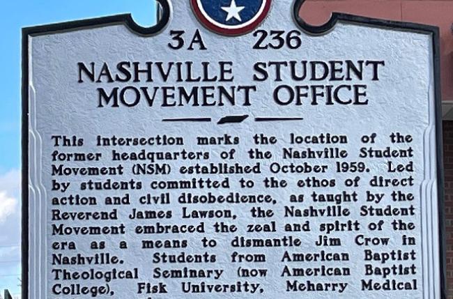 Heard Libraries' MLK Day service project enhances Nashville civil rights resources