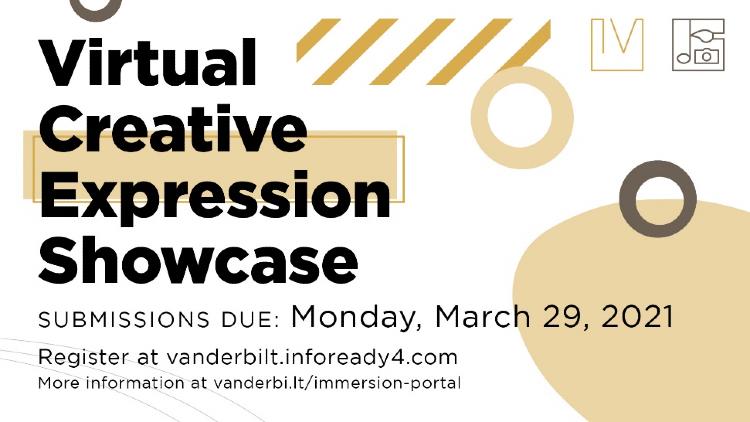 Virtual Creative Expression Showcase spring 2021