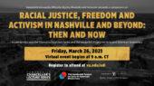 Vanderbilt convenes scholars, activists across generations to examine Nashville's role in fight for racial justice