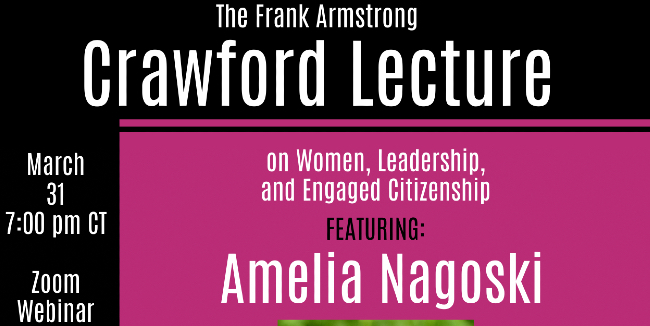 Annual Crawford Lecture will discuss burnout March 31