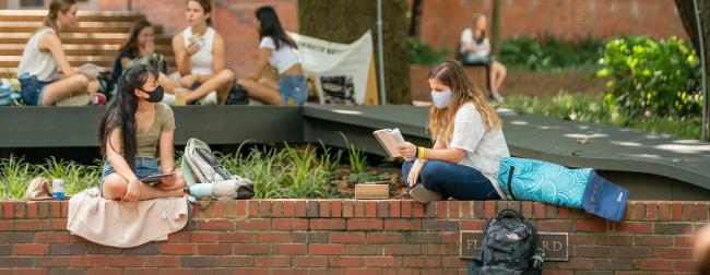 Rand wall students masks