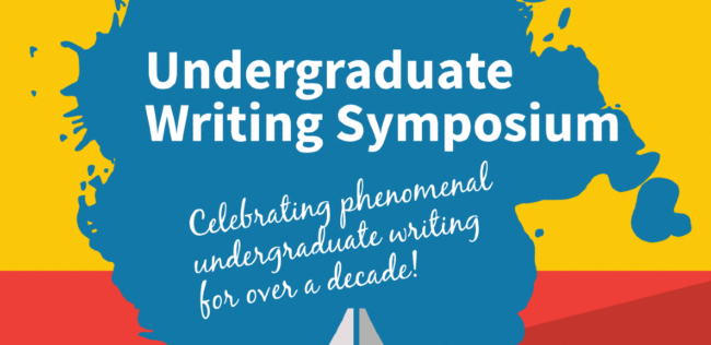 Undergraduate Writing Symposium to celebrate student authors and writing as learning and discovery