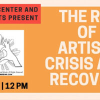 The Role of the Artist in Crisis and Recovery