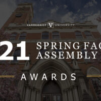 2021 Spring Faculty Assembly Awards